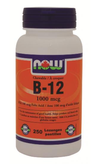 Vitamin B-12 1000mcg - 250 Chewable