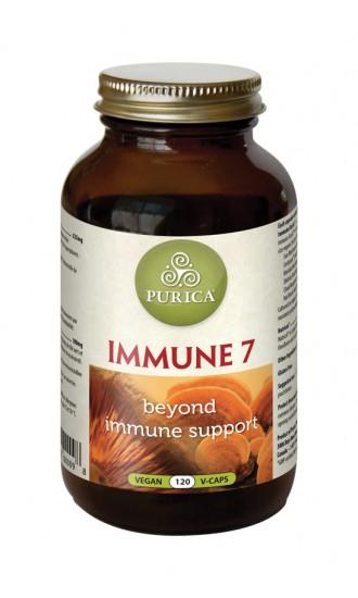 Purica Immune 7, 120 Vegetable Capsules