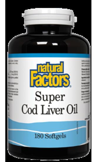 Super Cod Liver Oil, 180 Softgels