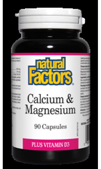 Calcium & Magnesium , 90 Capsules