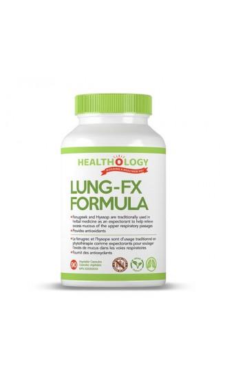 Healthology Lung-FX Formula, 90 Capsules
