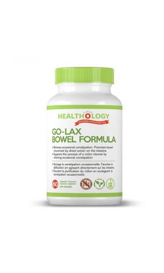 Healthology Go-Lax Bowel Formula, 60 Capsules