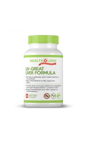 Healthology Liv-Great Liver Formula, 60 Capsules