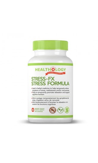 Healthology Stress-FX Stress Formula, 60 Capsules