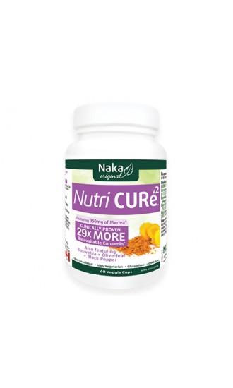 Naka Nutri Cure v2, 60 Capsules