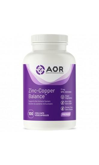 AOR Zinc-Copper Balance 100 Vegicaps