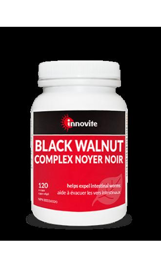 Innovite Black Walnut, 120 v caps