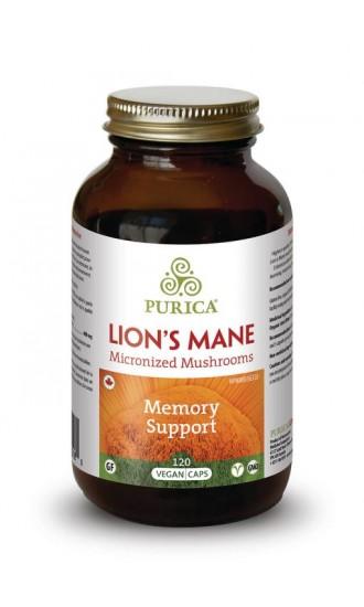Purica Lions Mane, 120 Capsules