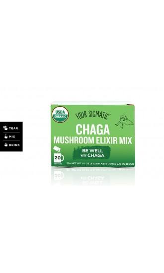 Four Sigmatic Chaga Mushroom Elixir Mix, 20 Packets