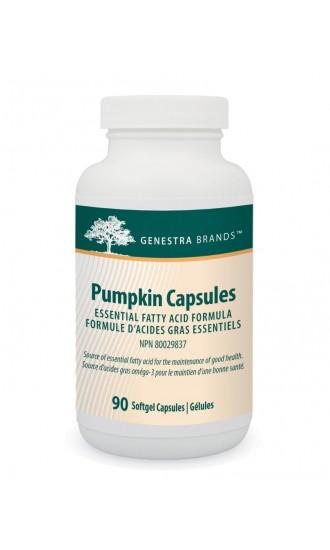 Genestra Brands Pumpkin Capsules, 90 Softgel Capsules