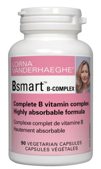 Lorna Vanderhaeghe Bsmart B-Complex, 90 Vegetarian Capsules