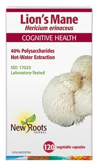 New Roots Lions Mane, 120 Capsules