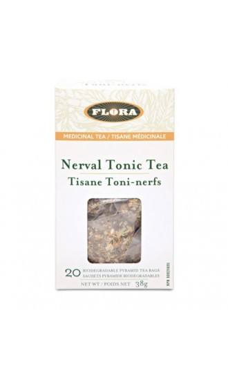 Flora Nerval Tonic Tea, 20 Tea Bags