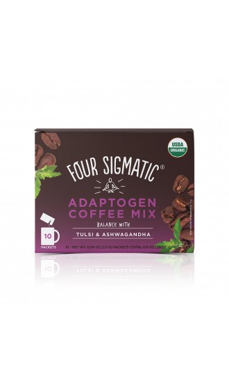 Four Sigmatic Adaptogen Coffee Mix, 10 Packets